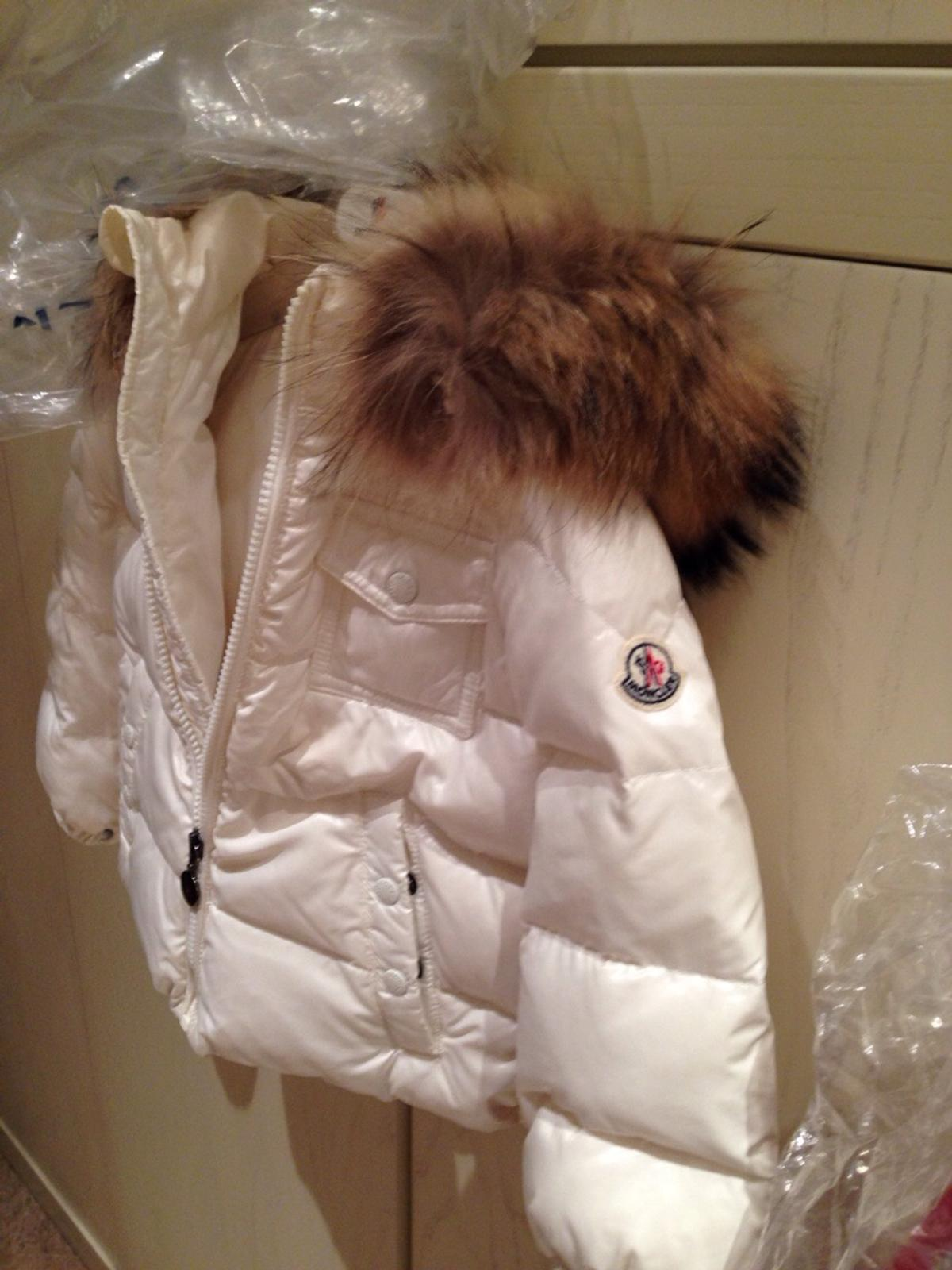 half off ec3d3 a8c6a Moncler bambina bianco 2-3 anni in 80132 Napoli for €100.00 ...