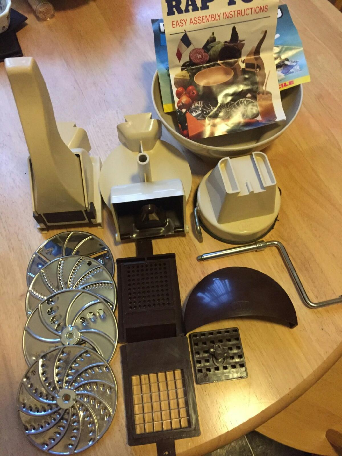 Vintage RAP'TOU 1980s Food slicer in CT9 Thanet for £15 00