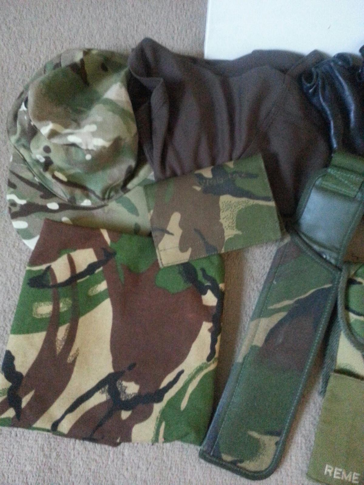 BRITISH military chest rig and army items in PO14 Fareham