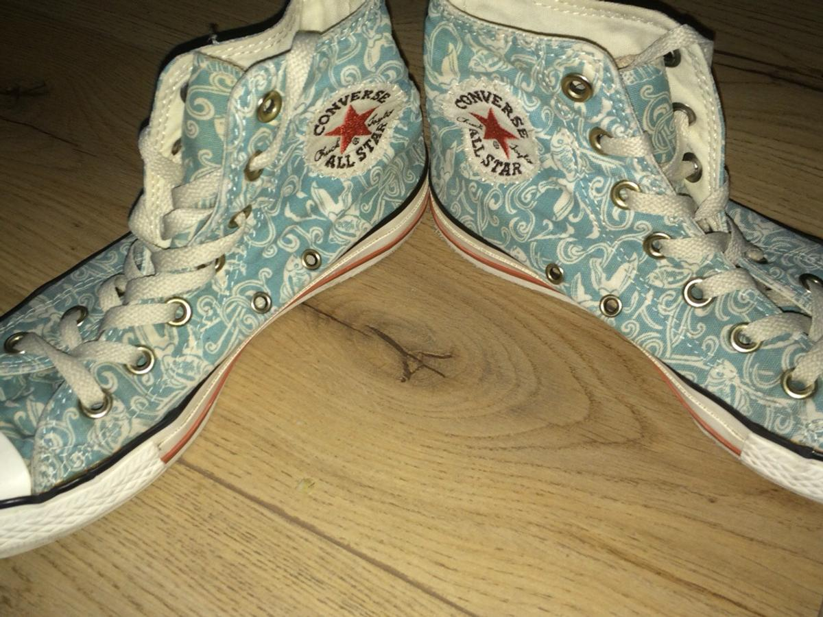 Hellblaue Chucks mit Koi Muster in Gr. 37,5 in 58285