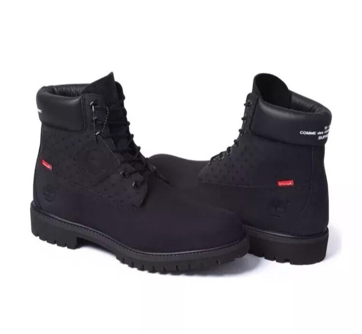 biggest discount competitive price newest collection Timberland x Supreme 6 Inch Boot Size 9.5 UK