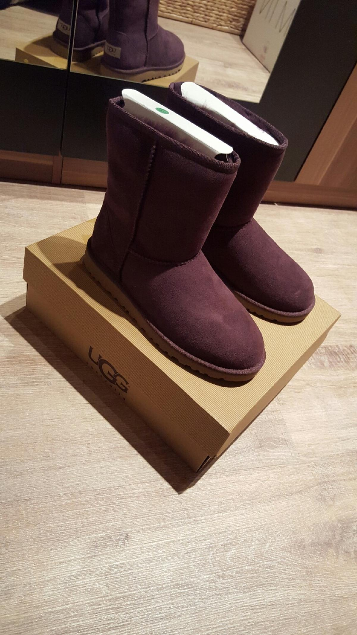 Boots In Ugg Neu Classic Ovp Lila Gr38 Beere 83607 5L34ARj