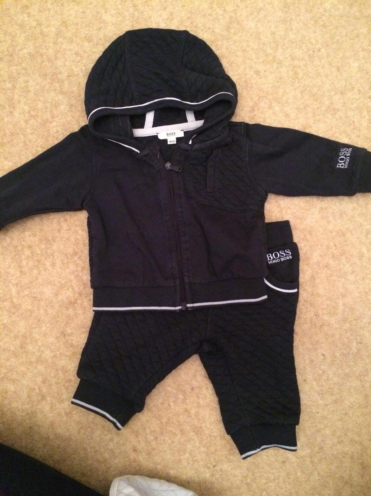 b6eae6281 Hugo Boss Babies Track Suit in The Bonners for £10.00 for sale - Shpock