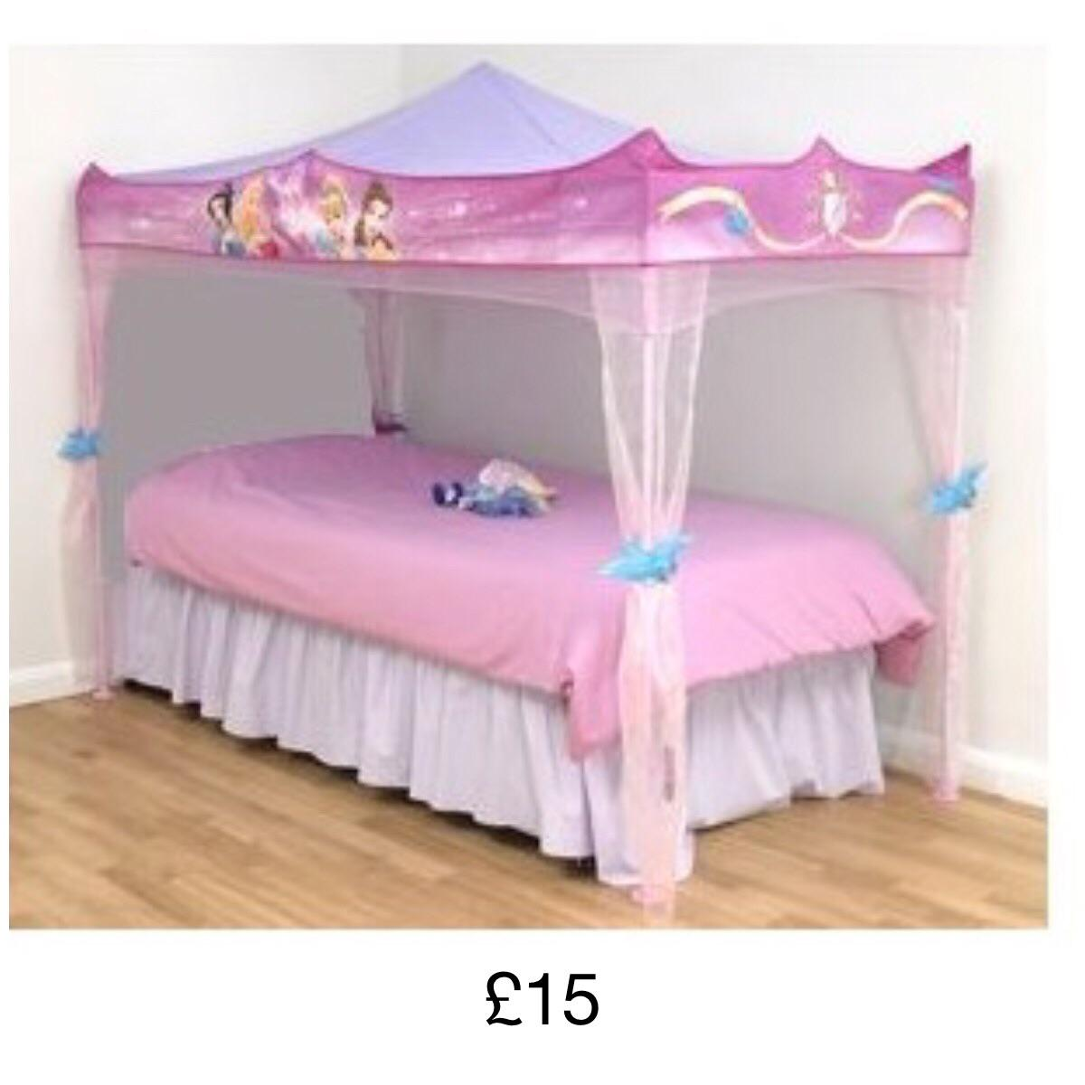 - Disney Princess Bed Canopy In NE25 Pit For £15.00 For Sale Shpock