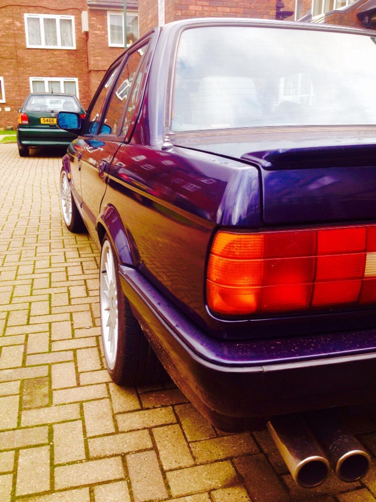 bmw e30 325i manual royal blue in NW10 London for £3,500 00