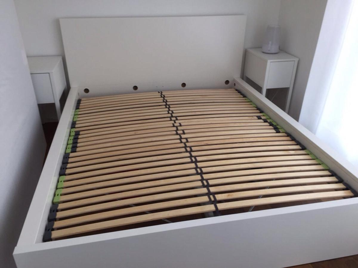 Ikea Malm Bett Weiss 160cm In 80469 Munchen For 165 00 For Sale Shpock