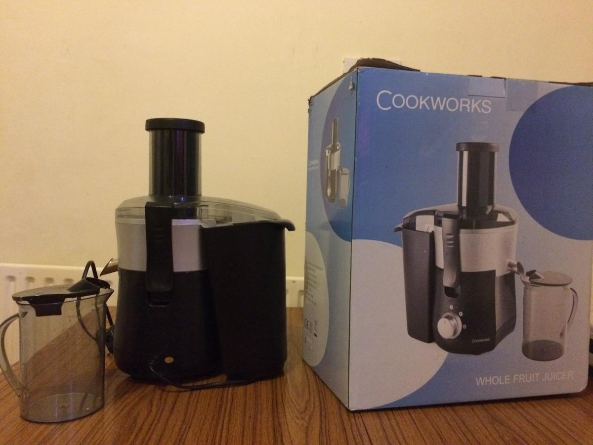 Cookworks Fruit Juicer For 15