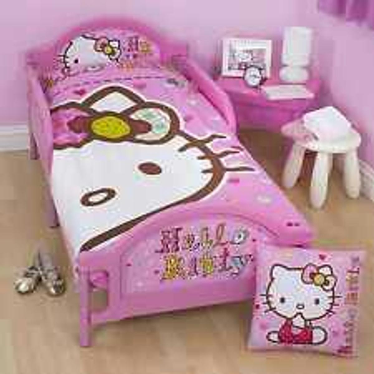 buy popular a4444 2d95e Hello kitty bed frame and matress