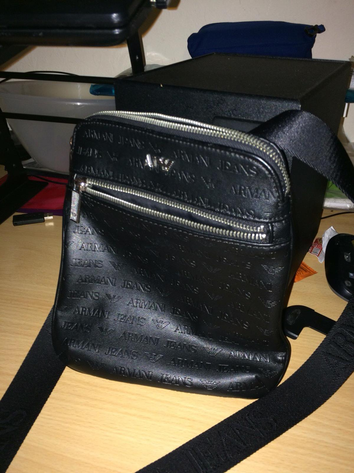 5836751e70 Armani Jeans Embossed All Over Bag Pouch in UB10 London for £60.00 ...