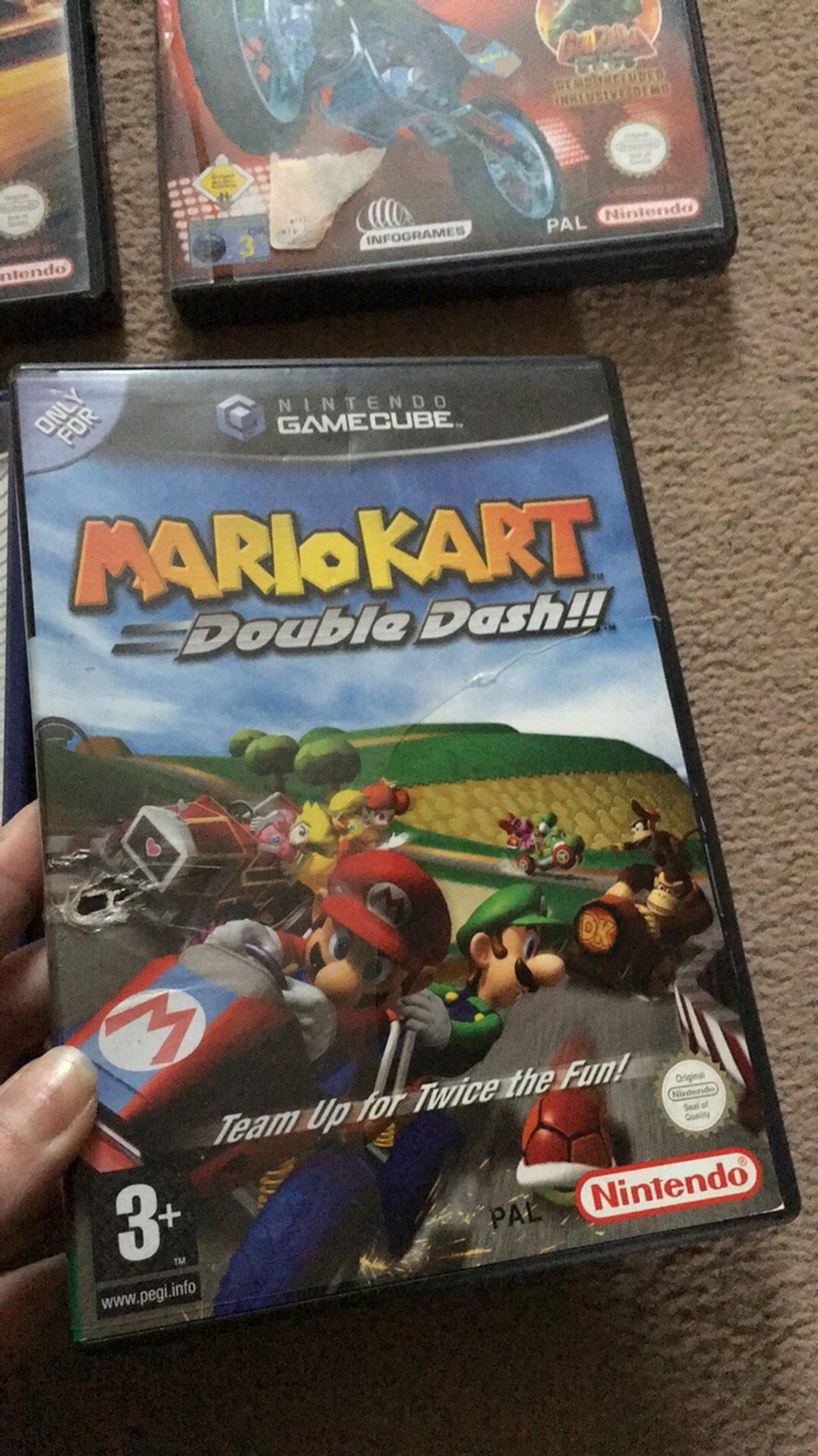 Mariokart Double Dash Zelda Gamecube