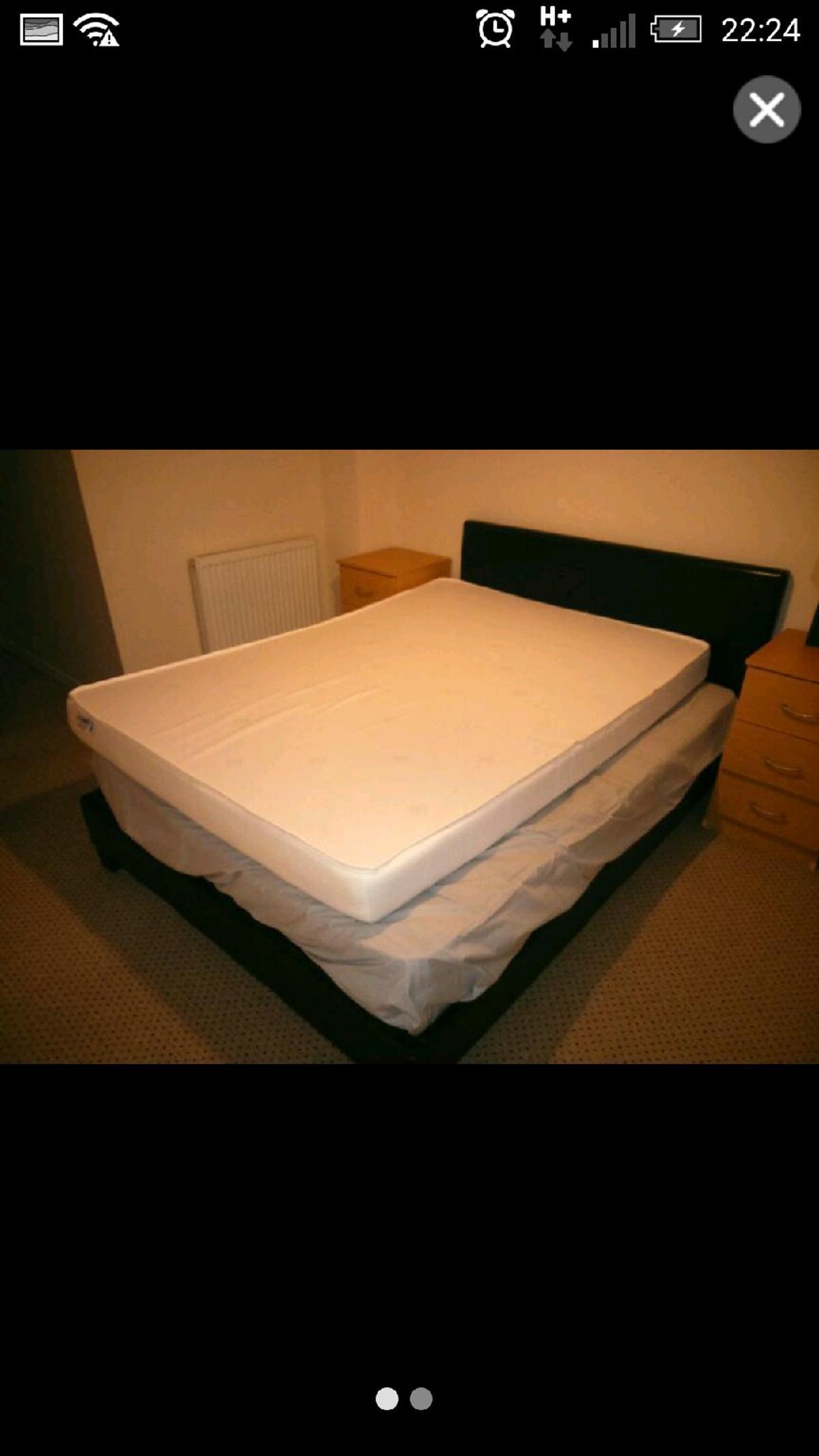 Double Bed And 2 Mattresses In Rg1