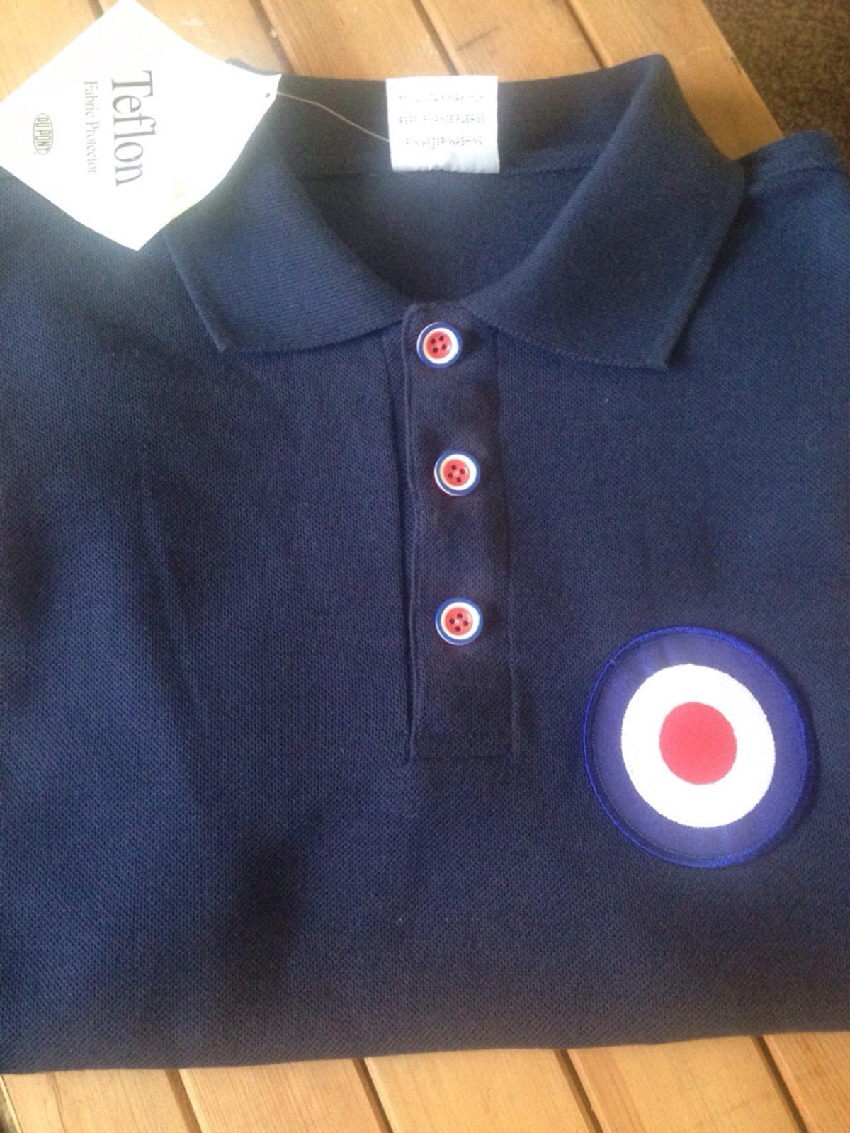 3f103004 Northern Soul/ Mod Polo shirt. Medium in PR5 Ribble for £10.00 for ...