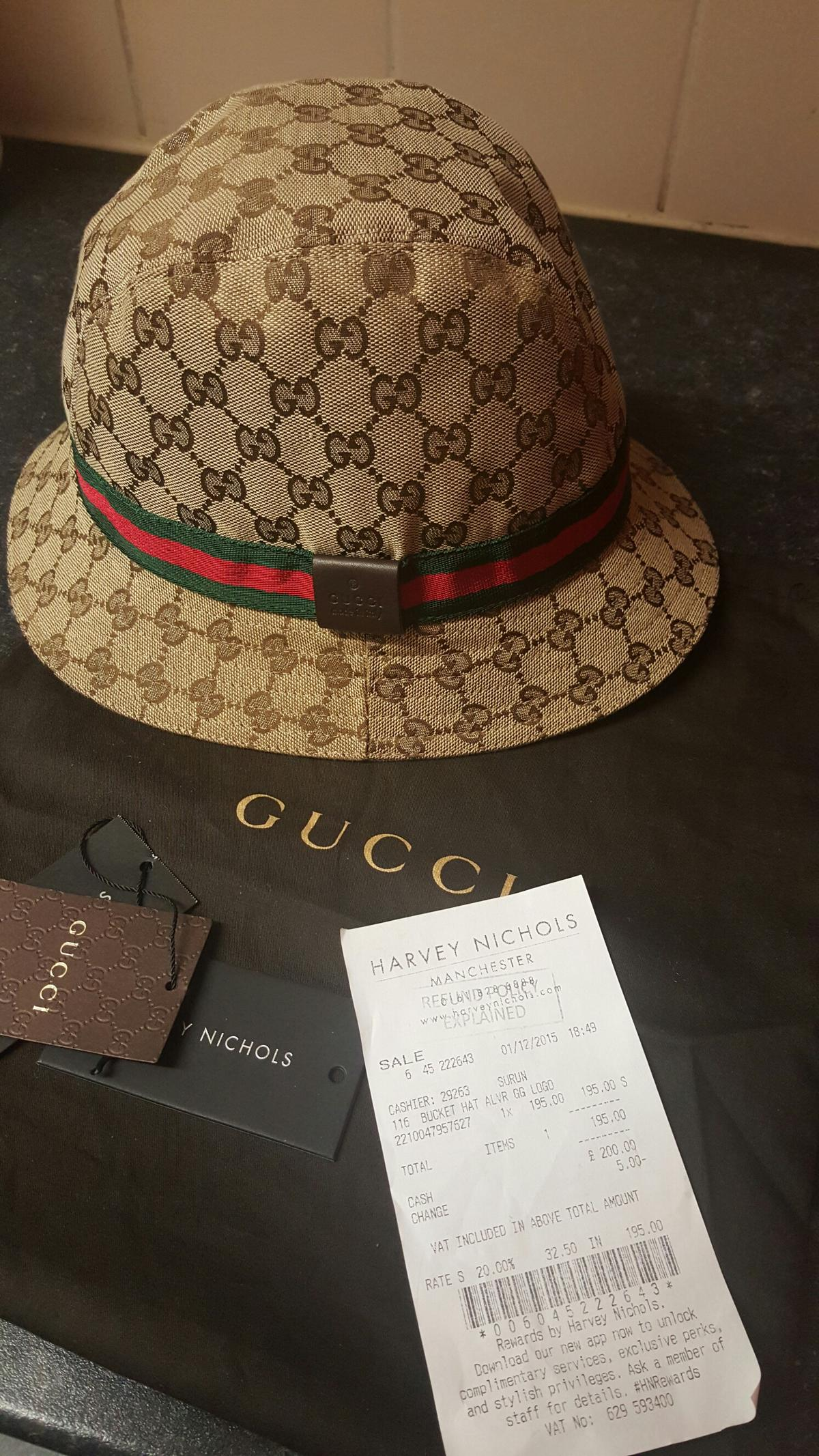 fde27669183 Gucci bucket hat in M16 Manchester for £150.00 for sale - Shpock
