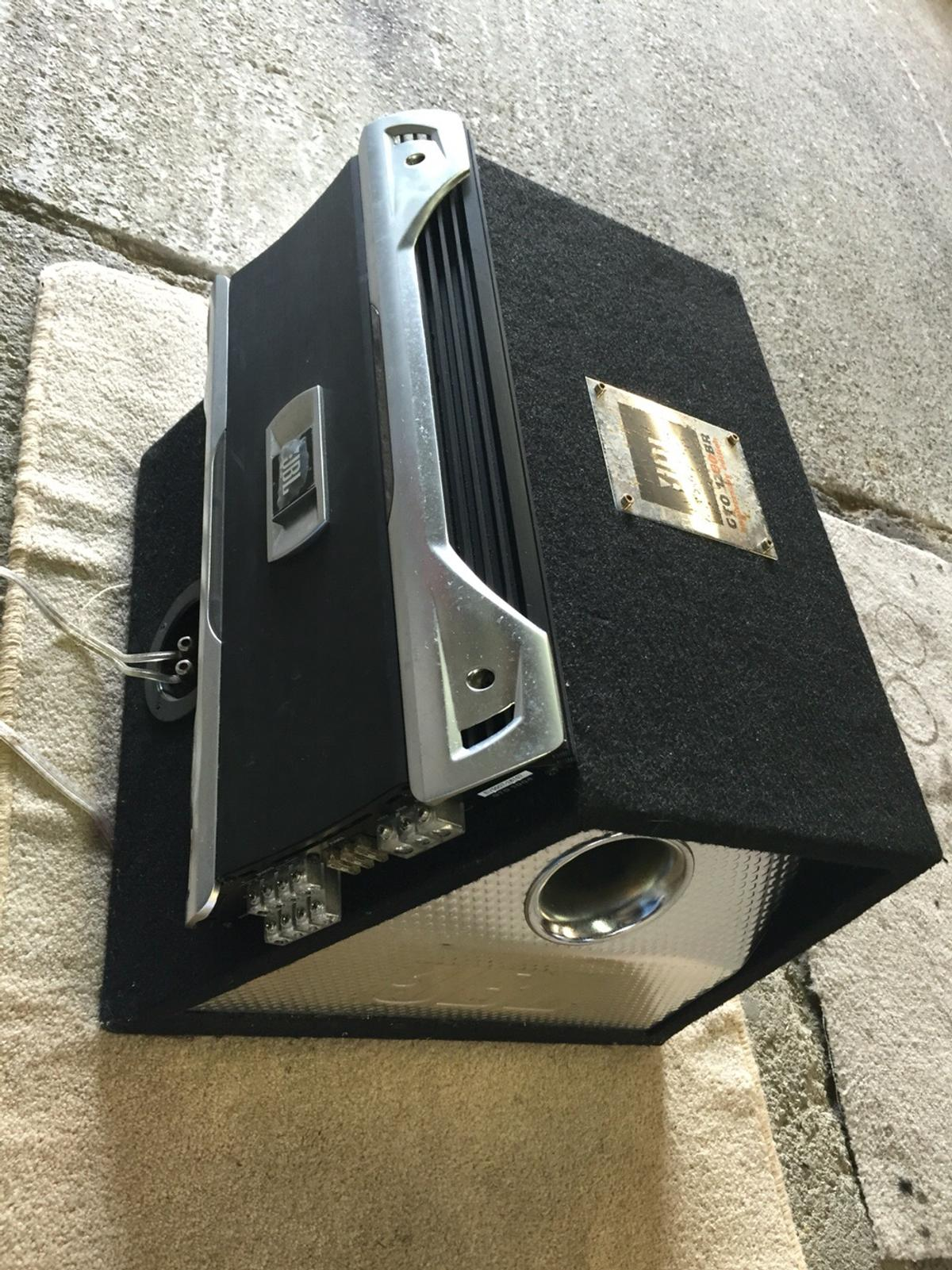 JBL Car Subwoofer & Amplifier in UB2 London for £120 00 for