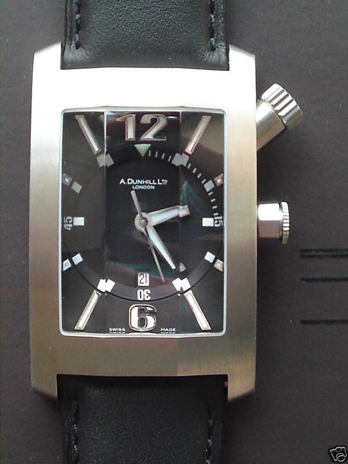 006ed8588 Alfred Dunhill Swiss Made Automatic Watch in GU52 Hart for £325.00 ...