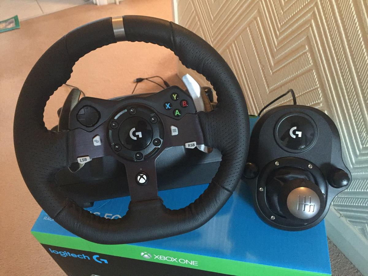Logitech G920 Driving Force Steering Xbox One in GU46 Surrey