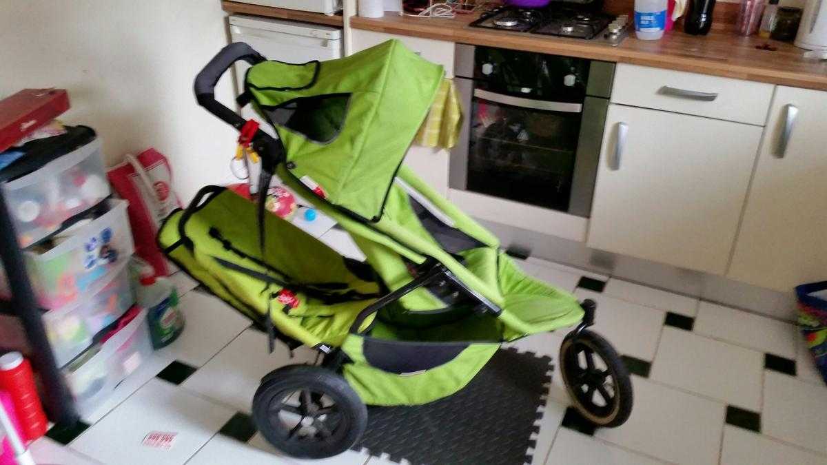 Phil Ted S Sport Double Lime Green Buggy In Lu2 Luton For 80 00