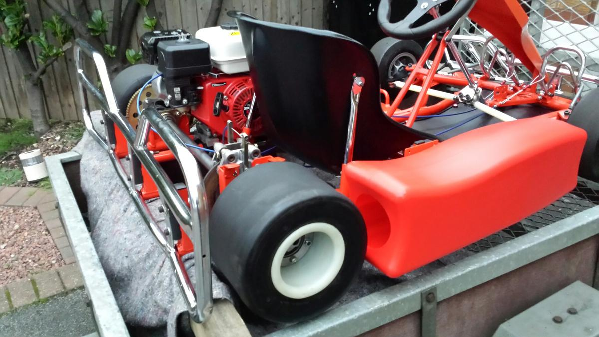 Honda cadet kart zip chassis with gx160 in DN4 Doncaster for