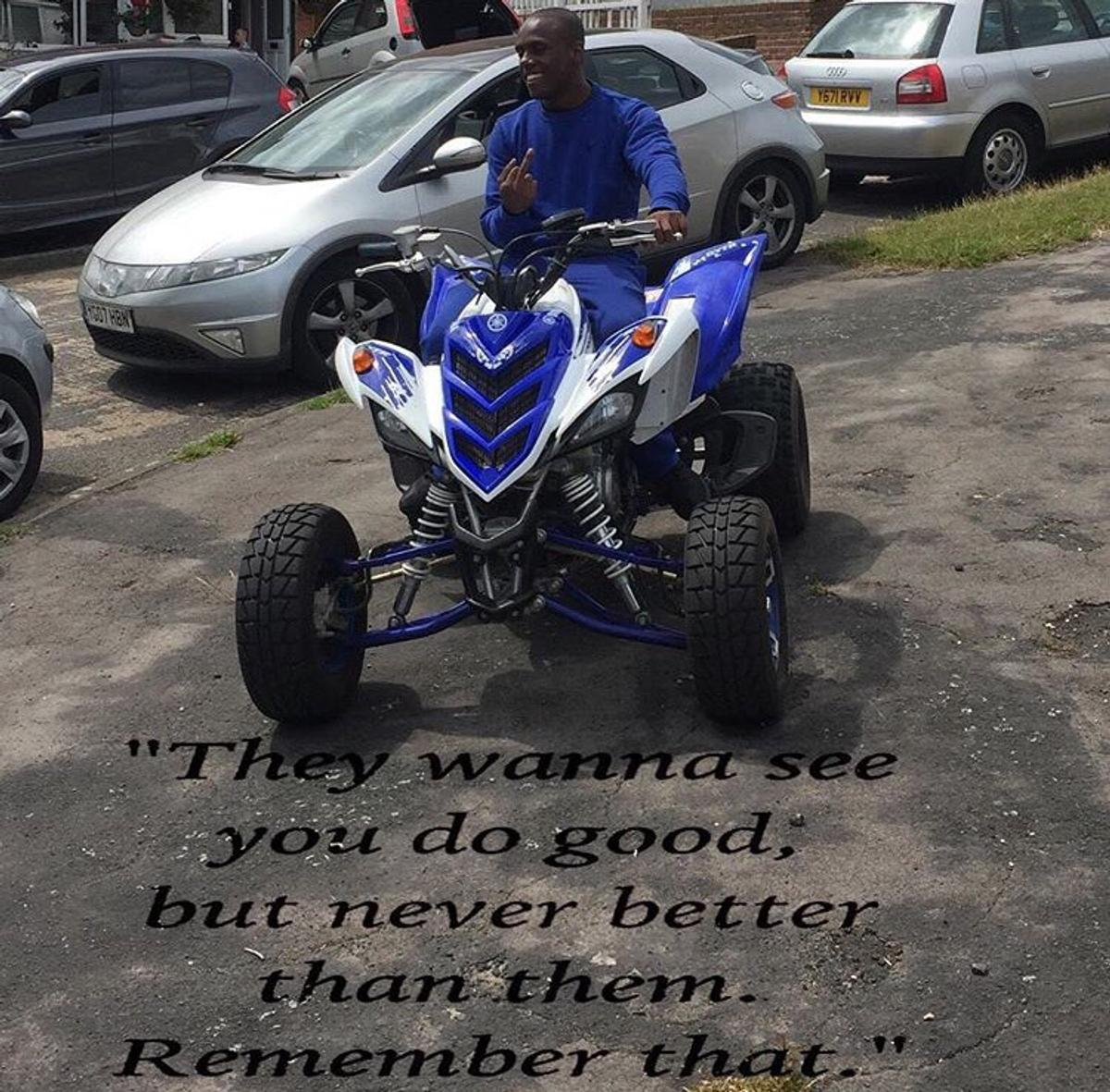 Yamaha raptor 700R road legal quad bike in Wycombe for £4,500 00 for