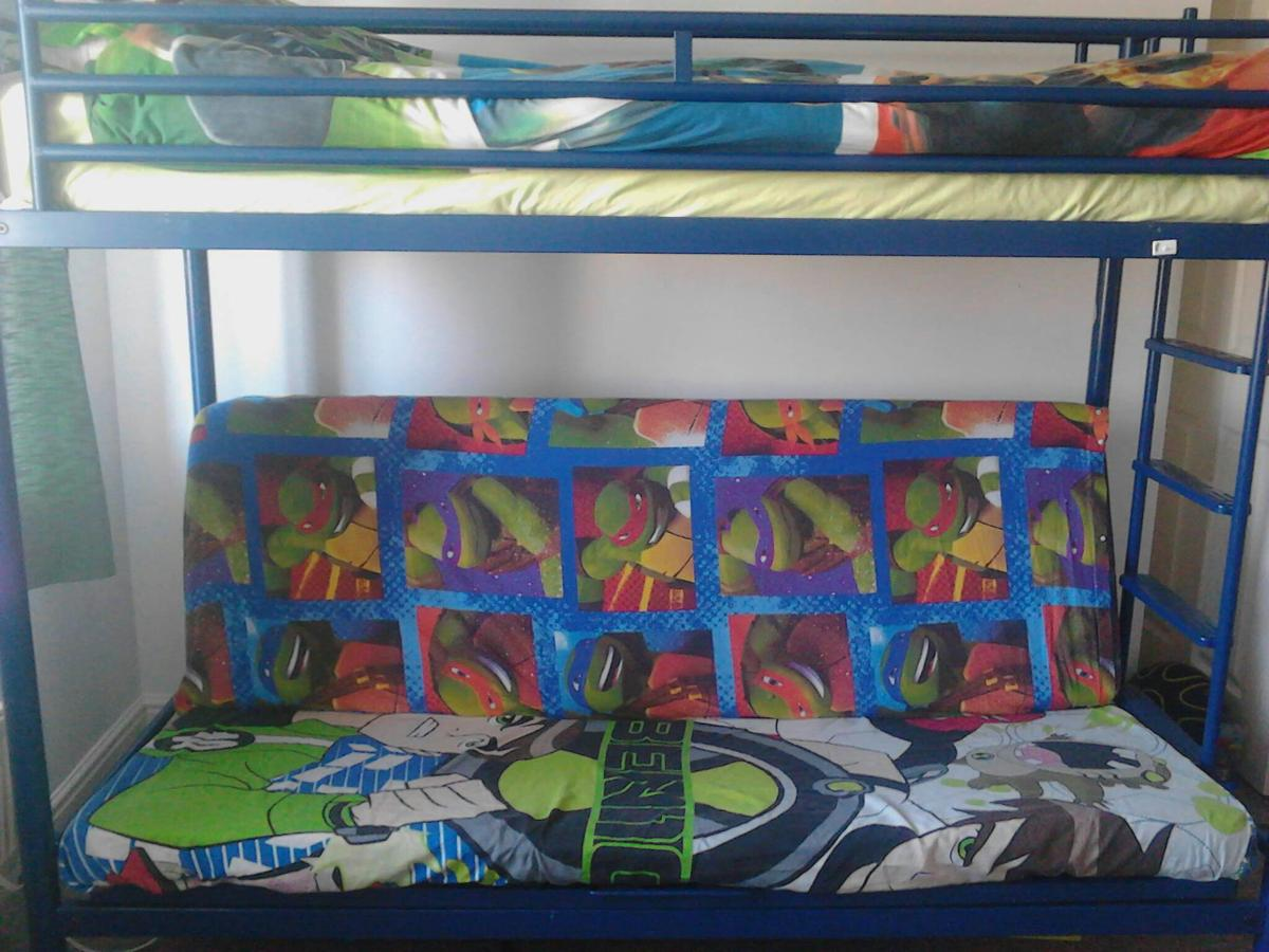 Awesome Jay Be Blue Bunk Bed Double Bed In Po3 Portsmouth For Bralicious Painted Fabric Chair Ideas Braliciousco