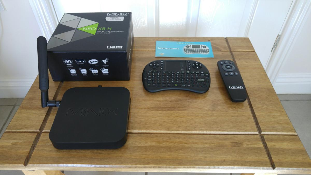 Minix neo x8-h Android tv box in DE22 Derby for £70 00 for