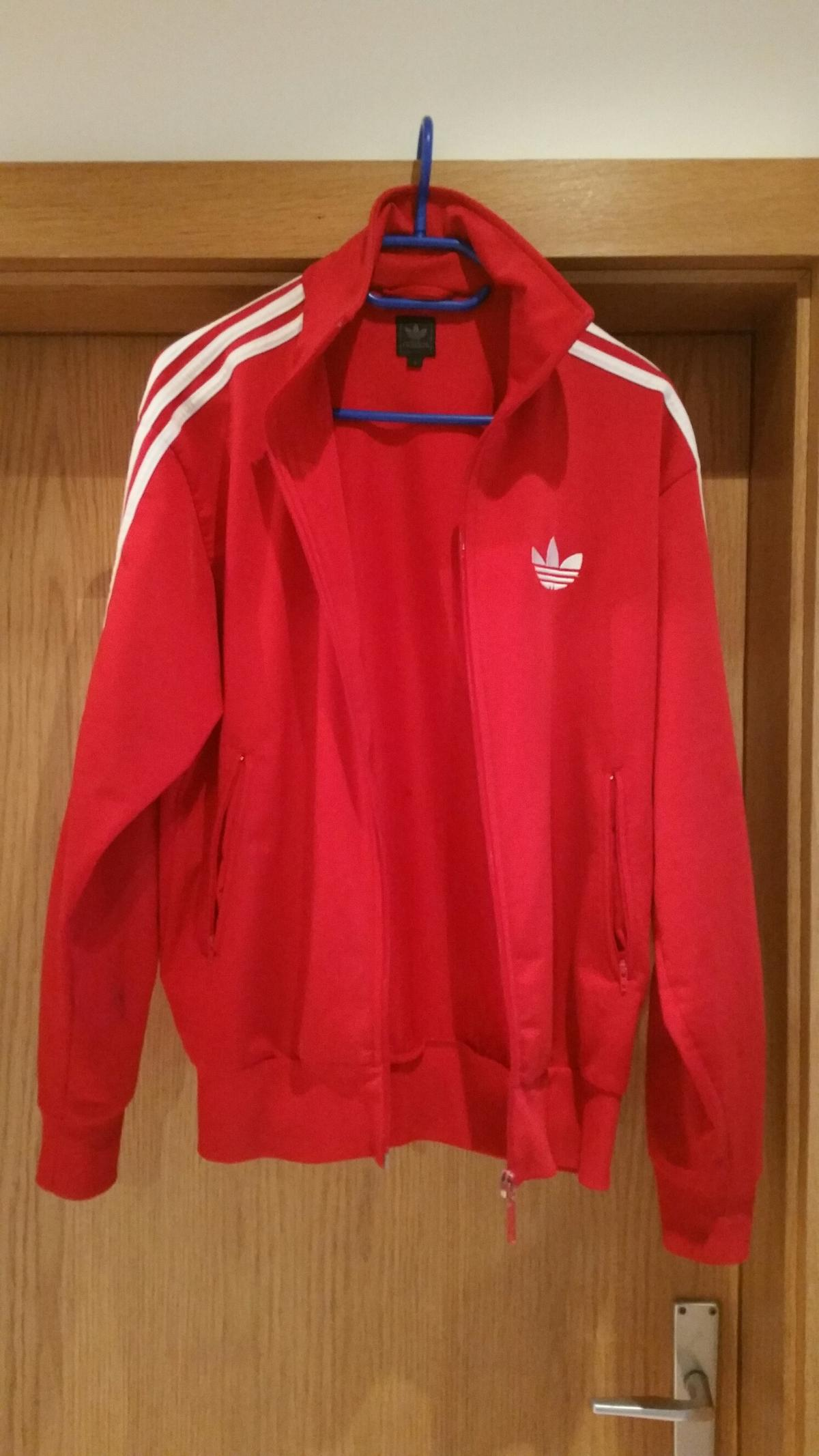 Adidas Firebird 1 TT Jacke rot weiß in 1120 Wien for €50.00