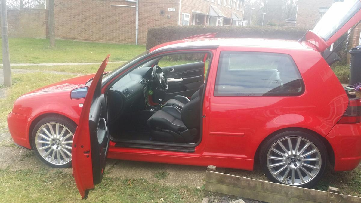 Golf GT TDI 6 SPEED R32 SEATS TORNADO RED in BH17 Poole for