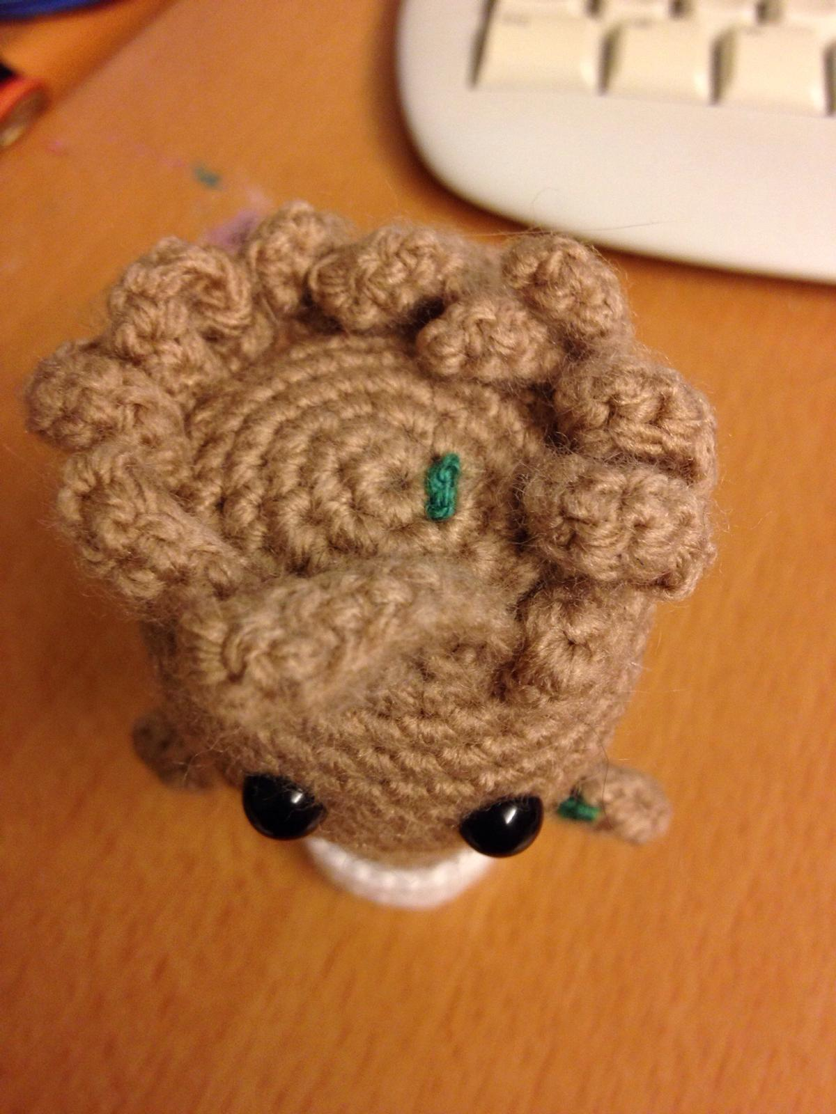 Free Crochet Pattern: Potted Baby Groot from Guardians of the ... | 1600x1200