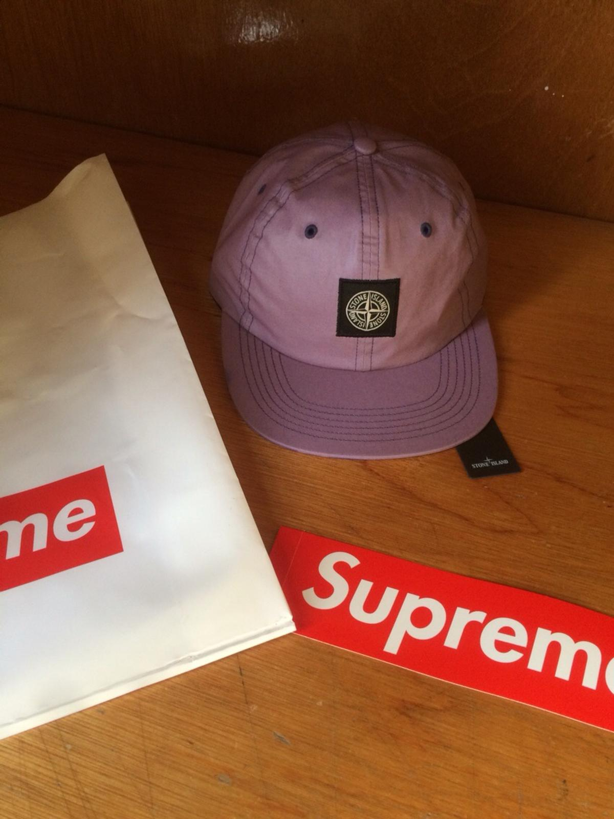 1c611806a Supreme X Stone Island Heat Reactive Cap. in IV30 Moray for £80.00 ...