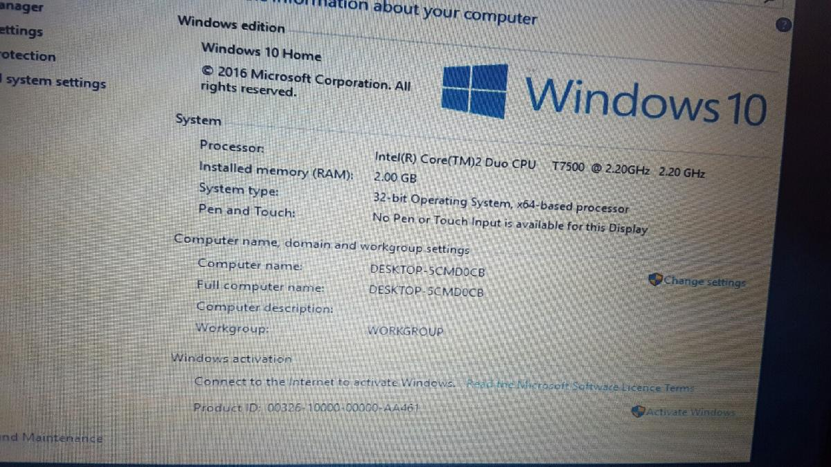 hp 6910p windows 10 work fain ASAP in NW10 London for £45 00 for