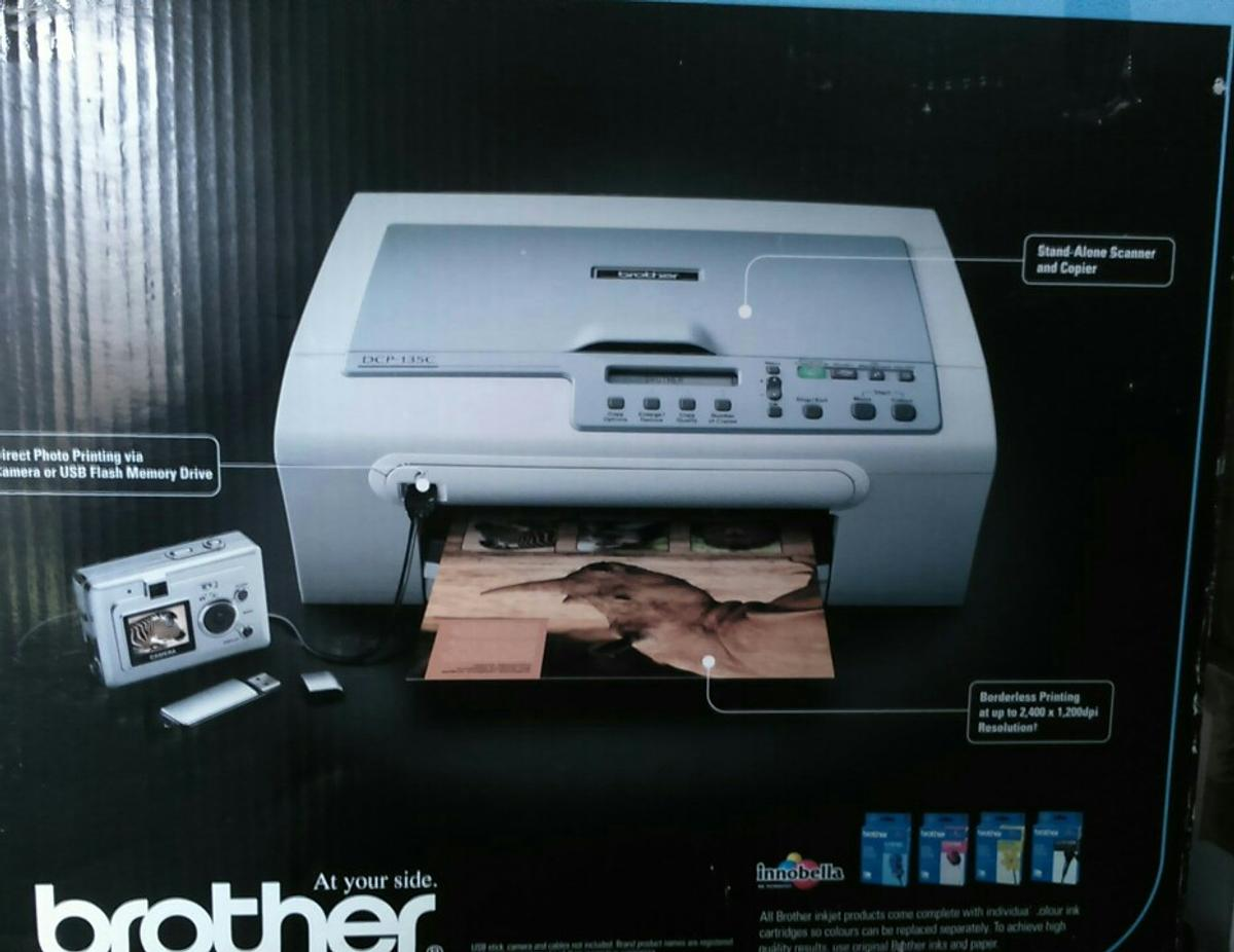 Brother printer DCP 135