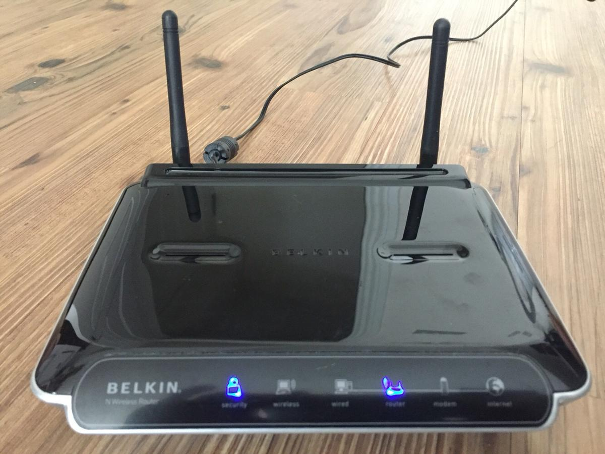 DRIVER: BELKIN N WIRELESS ROUTER F5D8233