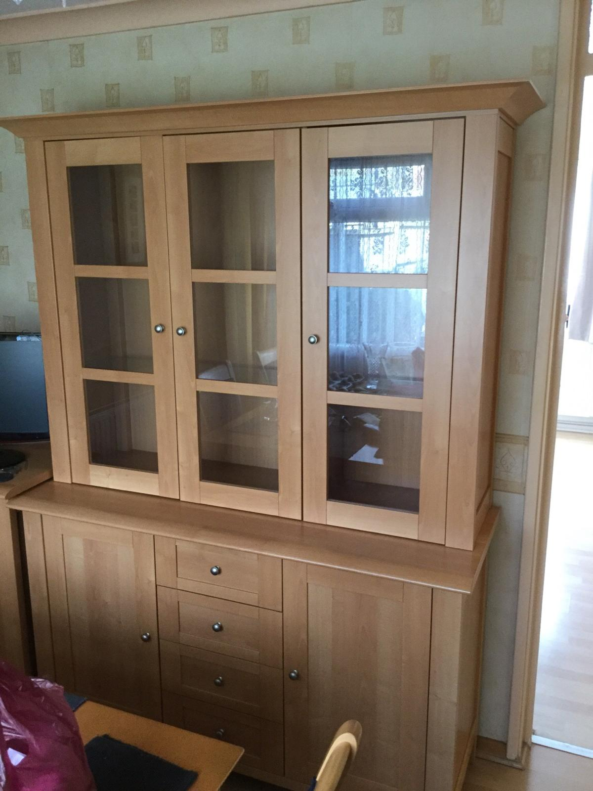 Nathan Beech Effect Top Unit with Doors
