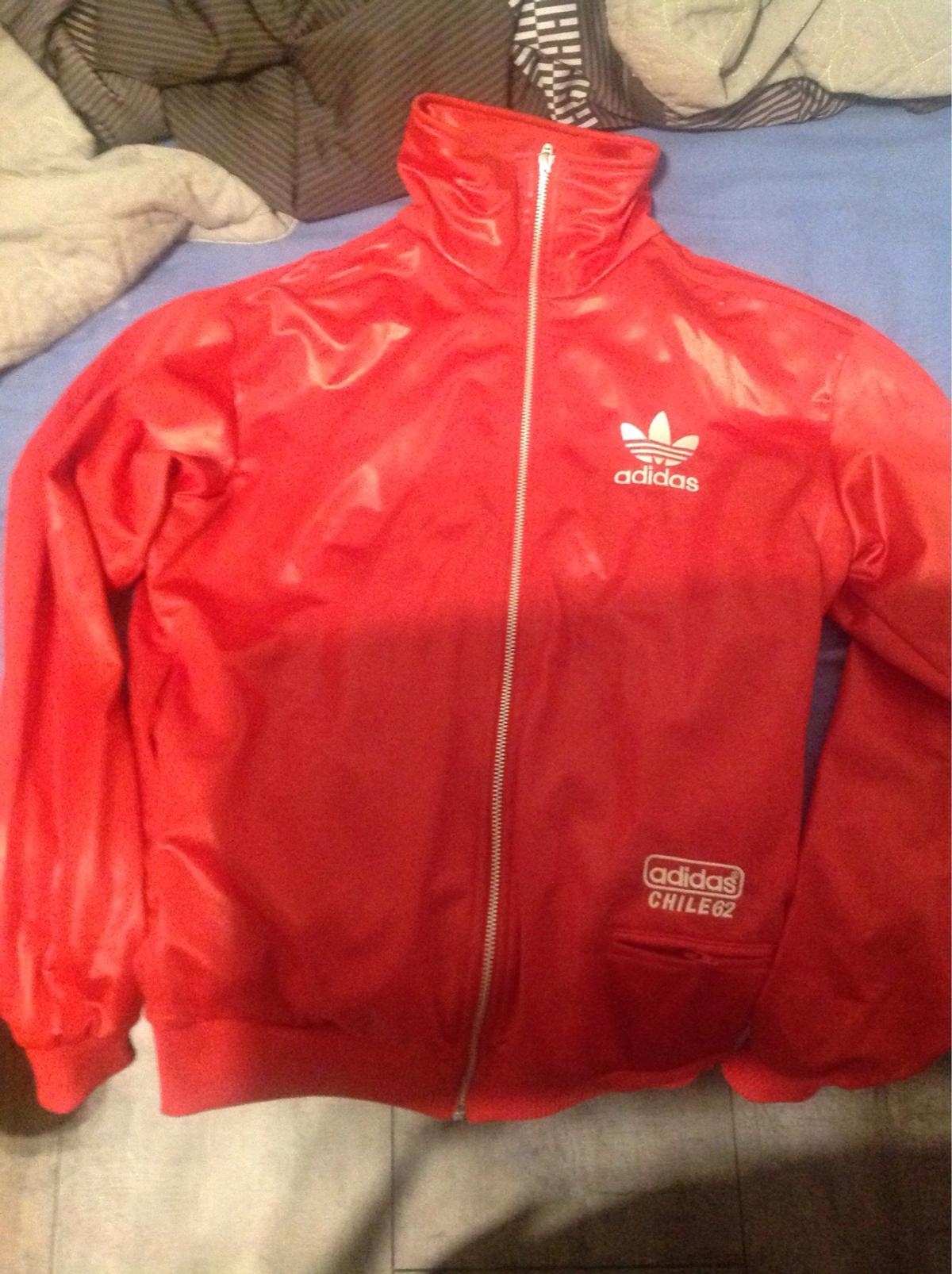 low price popular brand attractive price Adidas Chile 62 Trainingsjacke, rot (Gr. S)