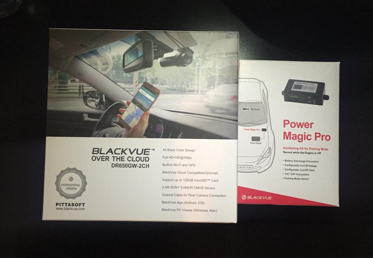 Blackvue DR650-2CH Power Magic Pro - Dash Cam