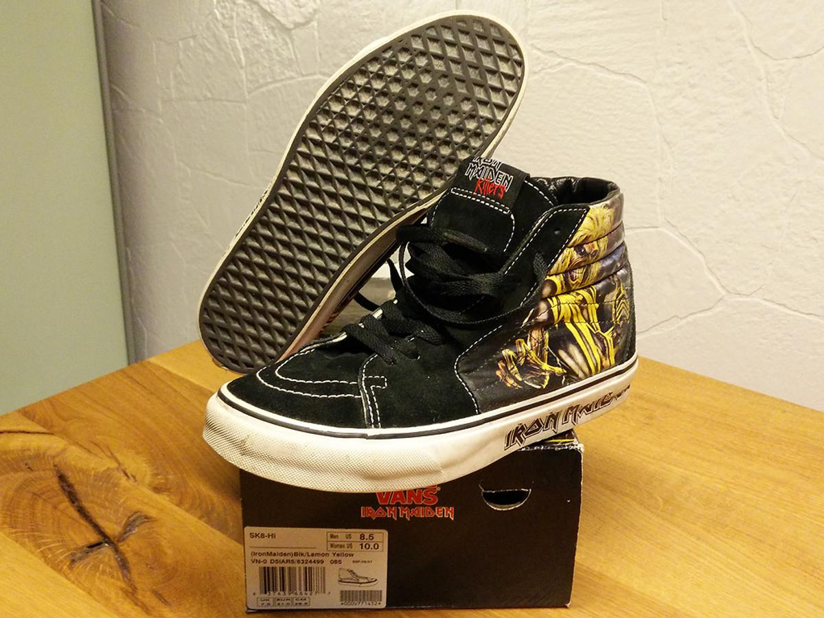 81a1c1f3f4 Vans Sk8-Hi Iron Maiden The Killers 41 in Köln for €60.00 for sale ...