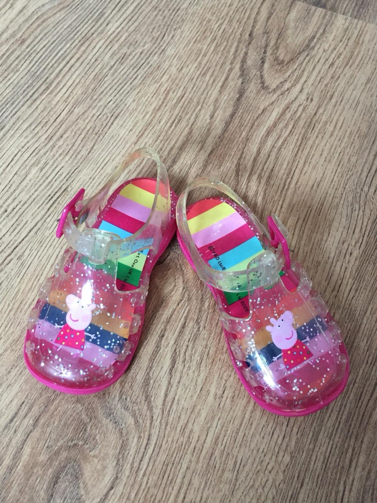 7b2cde86b070 Peppa Pig Next Jelly Shoes (infant size 5) in DL5 Aycliffe for £4.00 ...