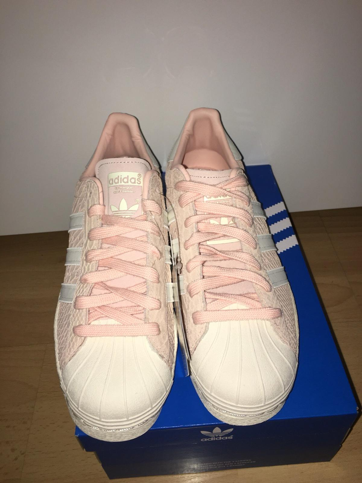 Adidas Superstars 80s rosa pinkblush offwhite in 30161