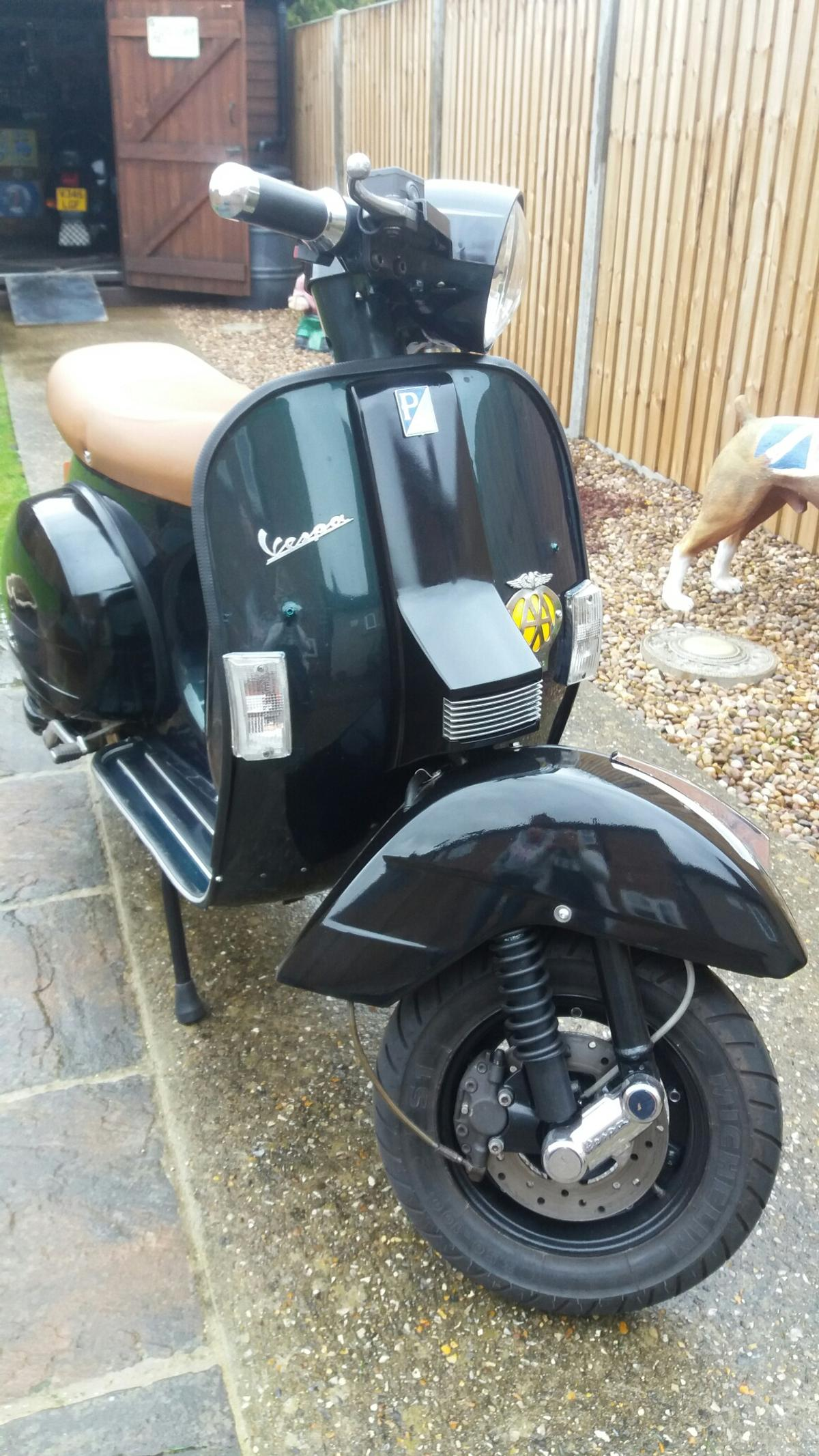 Vespa px 125 disc 2001 in PE30 2PS King's Lynn and West