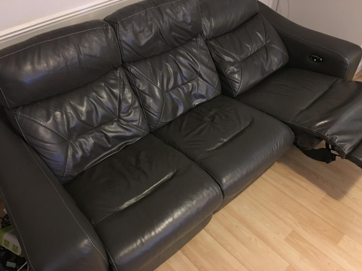 Dfs Dynamo 3 Seater Leather Electric