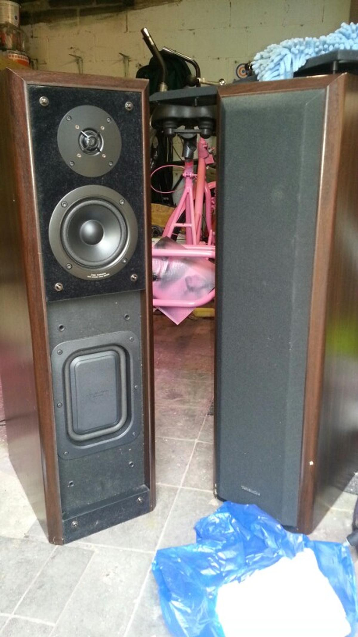 Technics sb-m500 160watts speakers in High Peak for £40 00 for sale