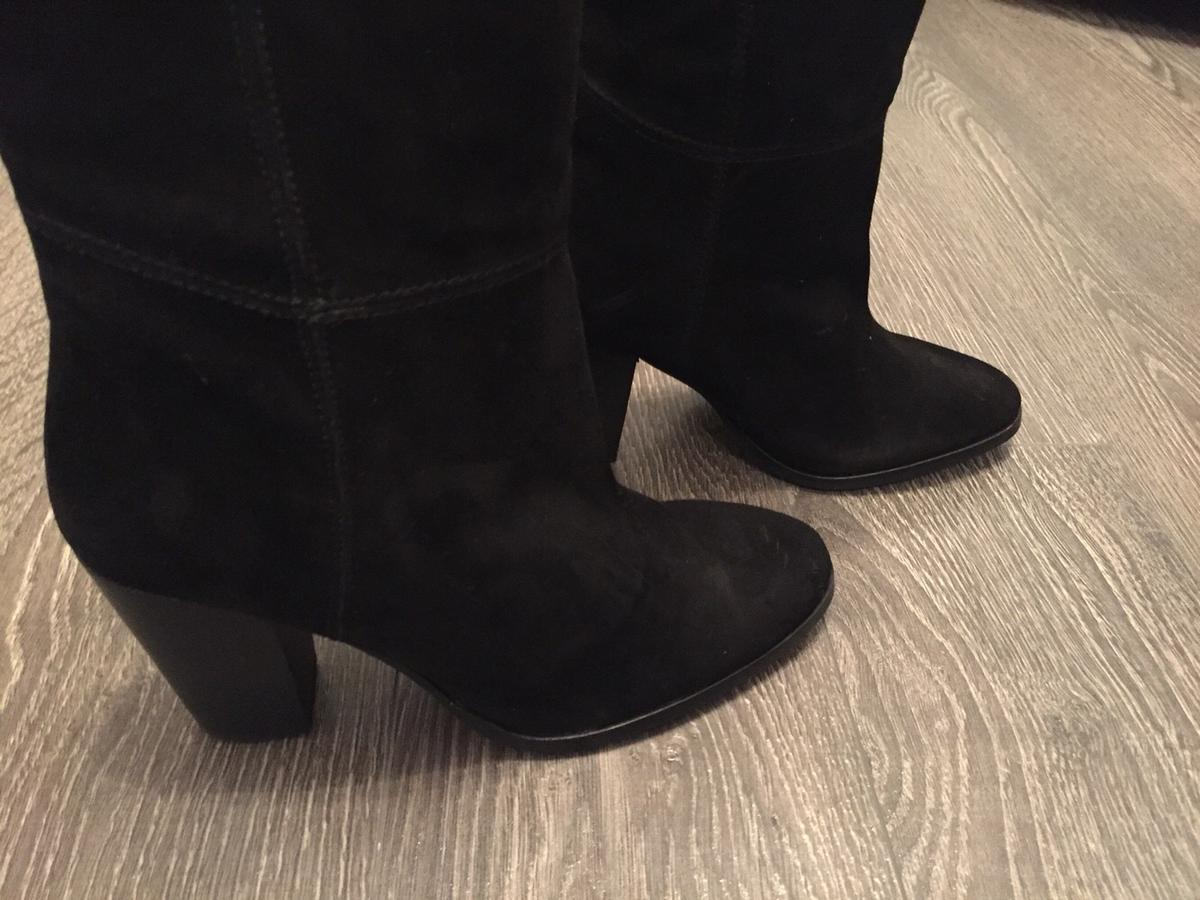 62de3cb9d67e6 REDUCED Ladies Black Suede H&M Boots size 40 in NN5 Northampton for ...