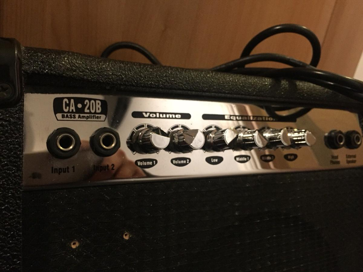 Stagg CA20 Bass Amp