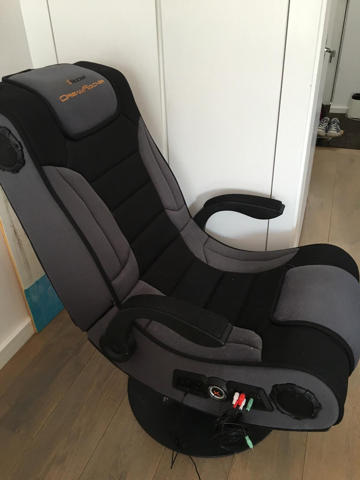 Tremendous Xdream Rocker Ultra Wireless Gaming Chair Caraccident5 Cool Chair Designs And Ideas Caraccident5Info