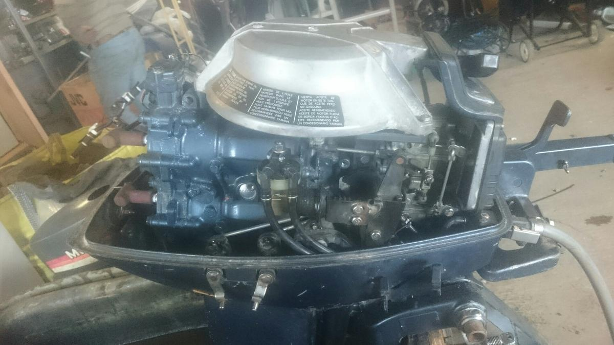 25hp yamaha 2 stroke outboard engine in WR10 Wychavon for £400 00
