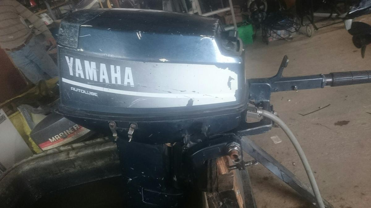 25hp yamaha 2 stroke outboard engine in WR10 Wychavon for