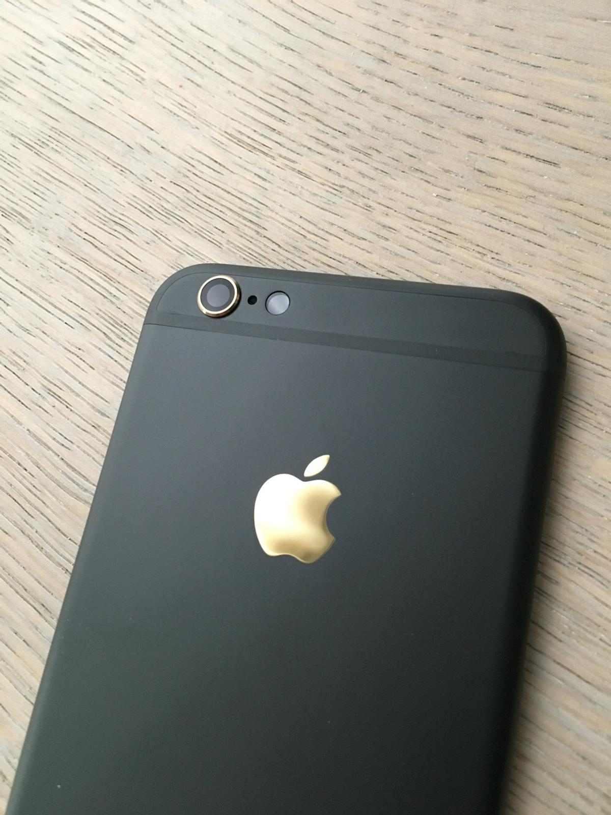 low priced f9955 d49a0 iPhone 6s Black and Gold Housing VERY RARE!