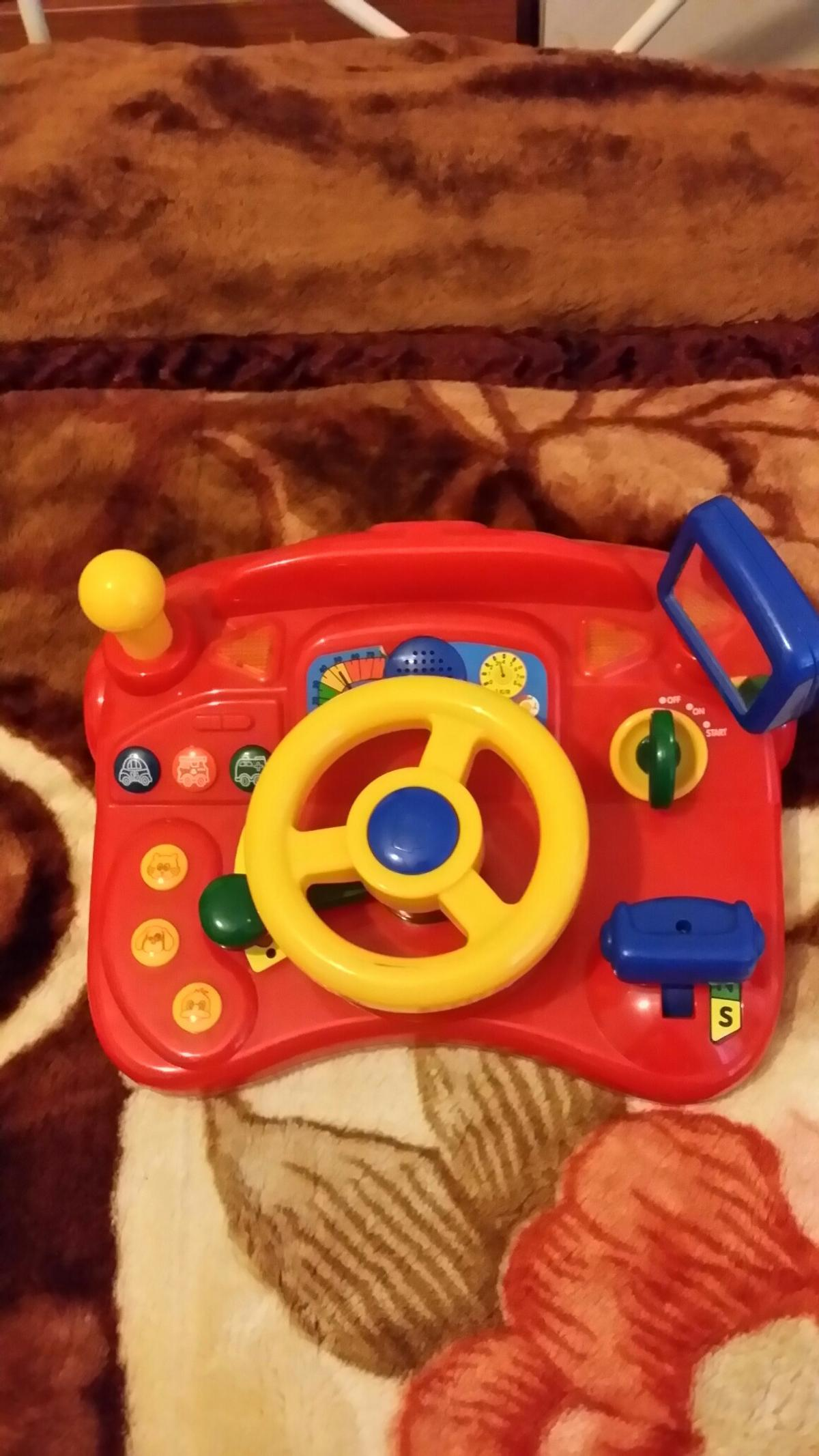 Car toy for kids with car horn and starting