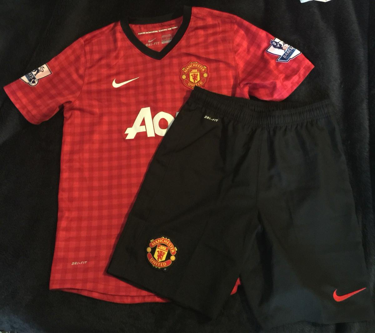 low priced a551d c4e96 Manchester United kit age 12-13 years in CF48 Dowlais for ...