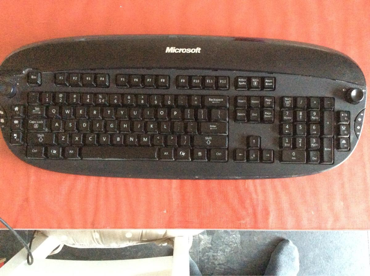 fb9e3f4d486 Microsoft Reclusa Gaming keyboard. in ME15 Maidstone for £8.00 for ...